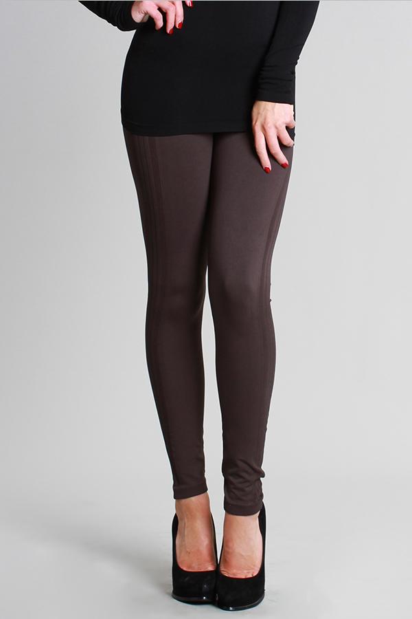 Tuxedo Leggings - Charcoal