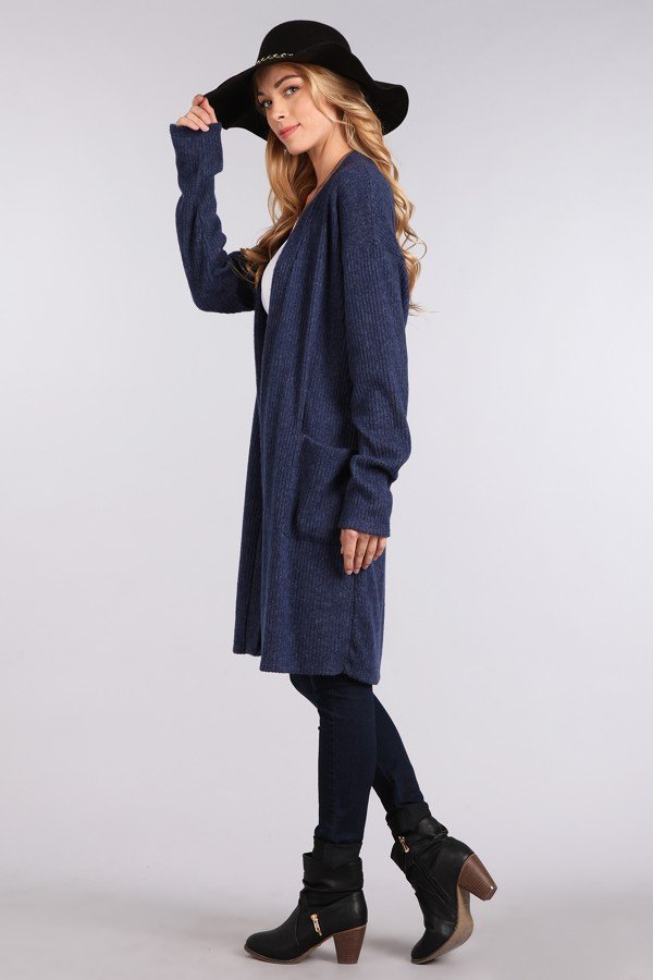 Long Body Cardigan