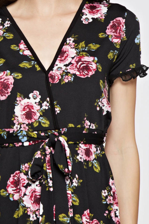 Party in the Front Floral Dress