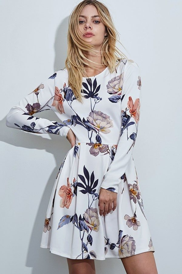 Pretty Petals Floral Dress