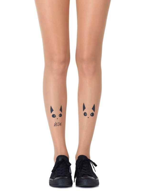 Cute Tights - Nice Kitty Sheer Tights