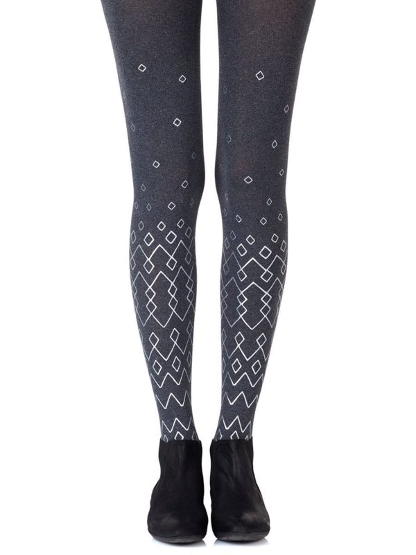 Cute Tights - Diamonds Are Forever Heather Grey Tights
