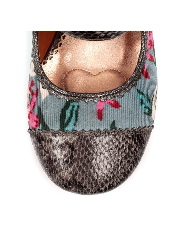 Irregular Choice Mini Mod in Grey