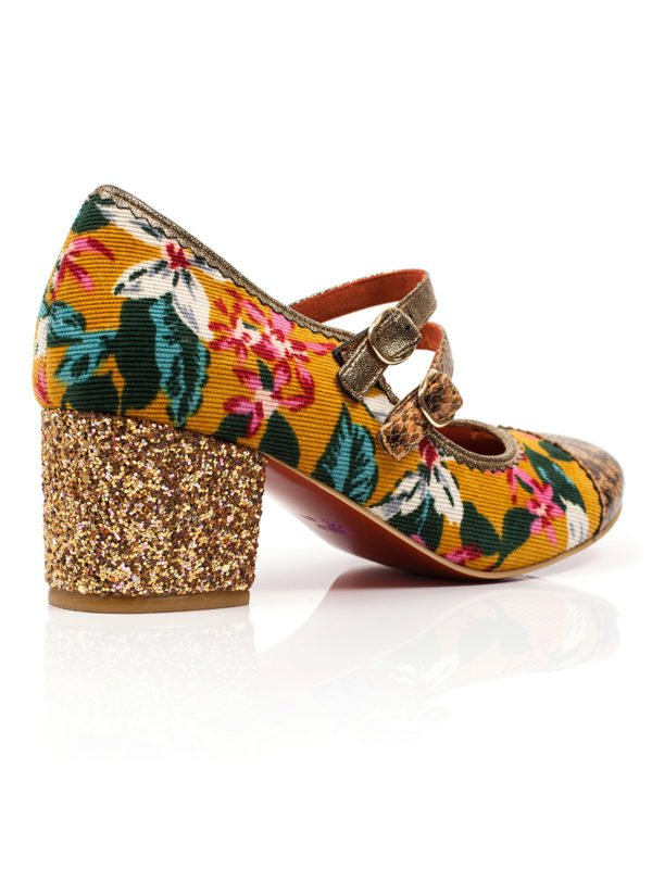 Irregular Choice Mini Mod in Mustard