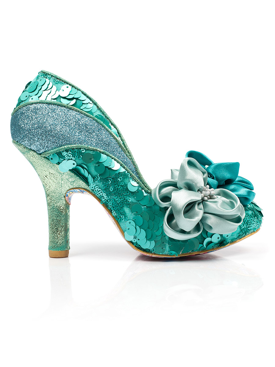 d60a482305ee4 Irregular Choice - Peach Melba - Mint - Lazy Caturday - Fun and Unique